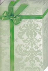 145T Doppelkarte Geschenk grün