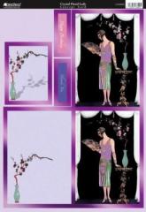 CON8005 Crystal Floral Lady