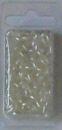 18-1008 Reisperlen 6 x 3 mm ca. 5,5 gr. gebrochenes weiß
