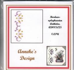 AD003.025w Borduuroplegkarten Annekes Design 25
