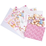 FFS 1691302  A4 Ultimative Decoupage Karte - Birthday Surprises