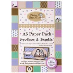 DND 1601101A 5 Papier Pack Hawthorn & Bramble
