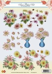 CD10151 Flowers Dahlia