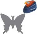 5474 Fiskars Hebelstanzer - M - Schmetterling 2.5 cm