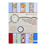 FFS 169006 A4 ultimate decoupage pack (48pcs) - the good life