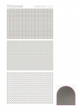STDM78 Hobby-Dots Sticker Mirror silver
