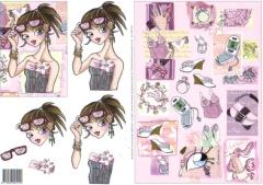 99017-01 Glamour Girl