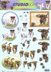 STAPTJ858 Süße kleine Hunde