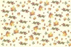 564342x Geprägtes Transparentpapier Blätter