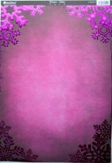 CRD8171 Winter Flake Pink